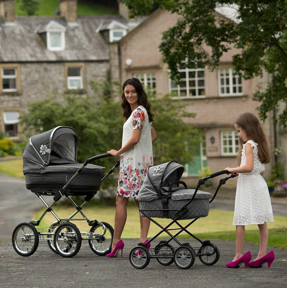 Silver Cross Sleepover Travel System Eton Grey