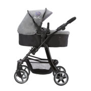 Silver Cross Pioneer 5 in 1 Dolls Pram in Eton Grey