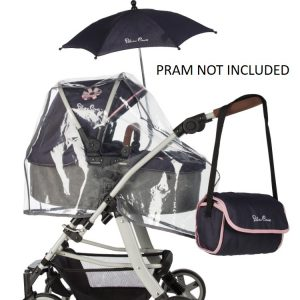 Silver Cross Ultimate Dolls Pram Accessory Pack in Vintage Blue