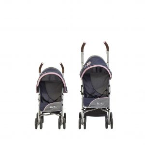 Silver Cross Pop Max Dolls Pushchair in Vintage Pink