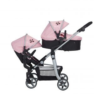 Silver Cross Wave Dolls Pram in Vintage Pink