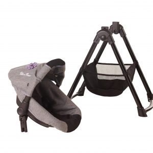 Silver Cross Simplicity 4 in 1 Dolls High Chair in Eton Grey